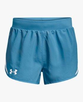 Shorts UA Fly-By para Niña