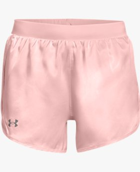 Women's UA Fly-By 2.0 Shine Shorts