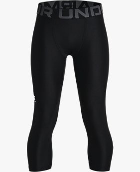 Boys' HeatGear® Armour ¾ Leggings