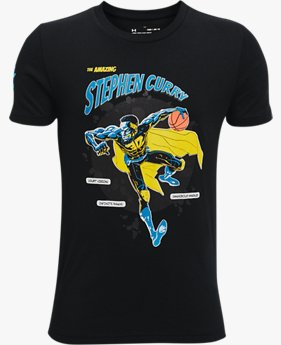 T-shirt Curry Super Steph pour garçon