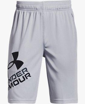 Boys' UA Prototype 2.0 Logo Shorts