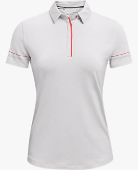Women's UA Zinger Heathered Short Sleeve Polo