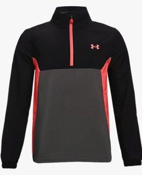 Boys' UA Storm Windstrike ½ Zip