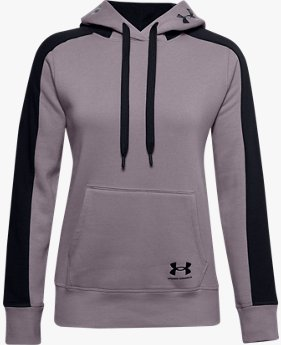 Women's UA Rival Fleece Graphic CB Hoodie