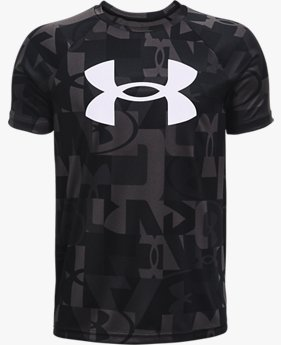 Boys' UA Tech™ Big Logo Printed Short Sleeve