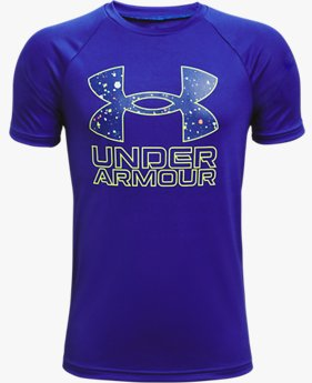 男童UA Tech™ Hybrid Fill印花短袖T恤