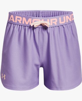 Girls' UA Play Up Shorts