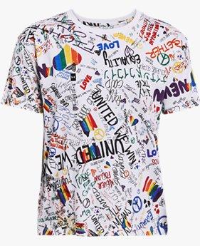 Women's UA Pride Printed Short Sleeve