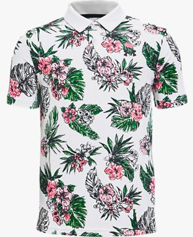 Boys' UA Performance Floral Polo