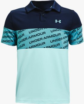 Jongenspolo UA Performance Wordmark