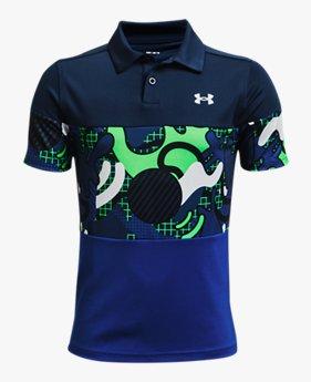 Boys' UA Performance Cool Supplies Polo