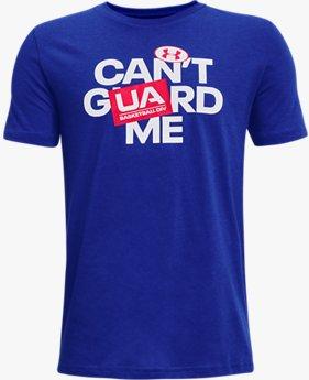 Boys' UA Basketball Short Sleeve T-Shirt