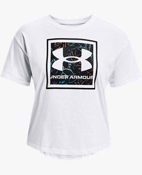 女士UA Glow Graphic T恤