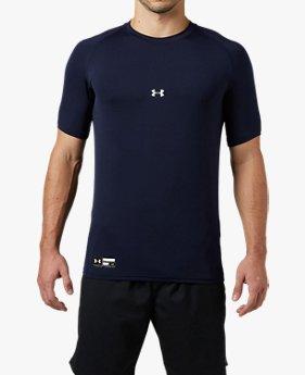 UAヒートギアアーマー フィッティド ショートスリーブ クルー(ベースボール/半袖ベースレイヤー/MEN)