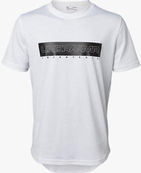 【アウトレット】UAテックショートスリーブ<グラフィック>(バスケットボール/Tシャツ/BOYS)