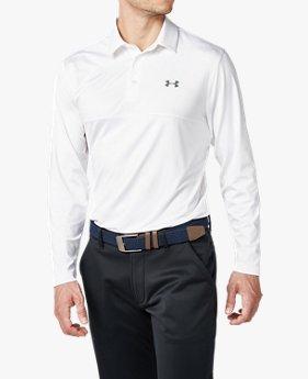 【アウトレット】UAプレイオフロングスリーブポロ(ゴルフ/ポロシャツ/MEN)