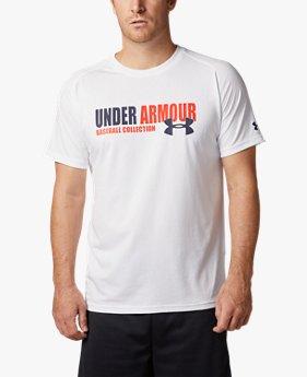【アウトレット】UAテック テキストTシャツ(ベースボール/MEN)