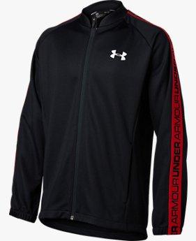 UAベースボール ユース フルジップ ニットジャケット(ベースボール/ジャケット/BOYS)