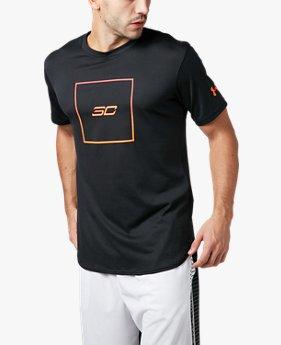 UA テック SC30 ボックスロゴ Tシャツ(バスケットボール/Tシャツ/MEN)