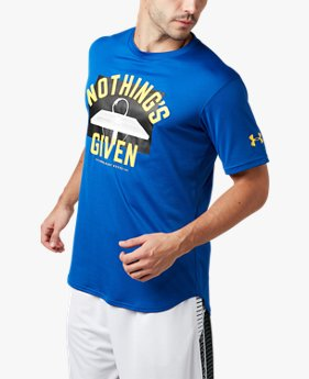 UAテック Tシャツ 〈NOTHINGS GIVEN〉(バスケットボール/MEN)