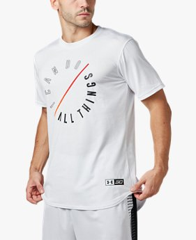 【アウトレット】UAテック SC30 〈I CAN DO ALL THINGS〉 Tシャツ(バスケットボール/Tシャツ/MEN)