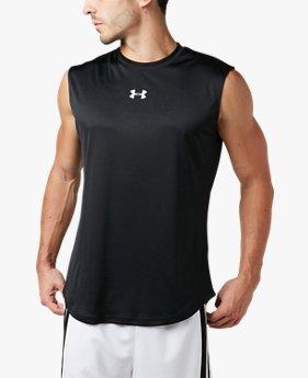 UA 〈LONGSHOT〉 スリーブレス Tシャツ(バスケットボール/タンクトップ/MEN)