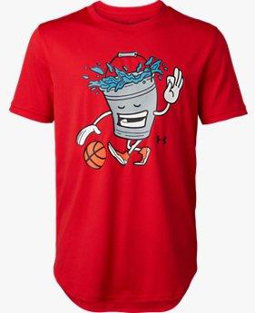 UAテック ユース 〈BUCKET BALL〉 Tシャツ(バスケットボール/Tシャツ/BOYS)