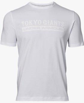 【アウトレット】UA読売ジャイアンツ チャージドコットンクルーTシャツ フロッキー(ベースボール/Tシャツ/MEN)