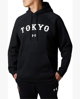 【アウトレット】UA読売ジャイアンツ ライバルフリースフーディー<TOKYO>(ベースボール/パーカー/MEN)