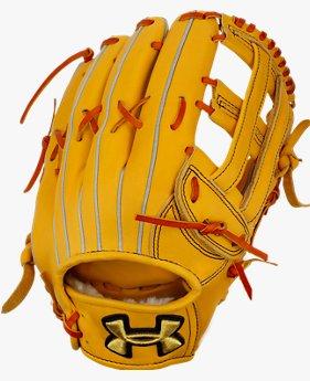 UA BL 硬式野球 外野手用グラブ(右投げ)(ベースボール/硬式グラブ/右投げ外野手用/MEN)