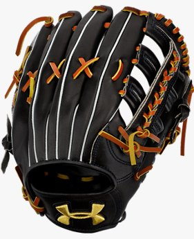 UA DL 硬式野球 外野手用グラブ(右投げ)(ベースボール/硬式グラブ/右投げ外野手用/MEN)