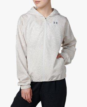 UAプリント ウーブン ジャケット(トレーニング/ジャケット/WOMEN)