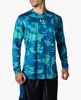 UAベースライン プリント ロングスリーブ(バスケットボール/Tシャツ/MEN)