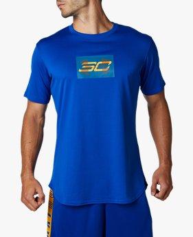【アウトレット】UA SC30 テック オーバーレイ ショートスリーブ(バスケットボール/MEN)