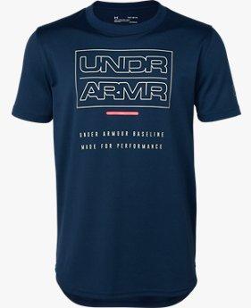 UAベースライン テック ショートスリーブ(バスケットボール/BOYS)