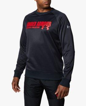UAルーキー フリース クルー(ベースボール/トレーナー/MEN)