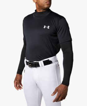 UAビッグロゴ ベースボール シャツ(ベースボール/Tシャツ/MEN)