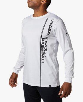 UAテック グラフィック ロングスリーブ ティー シャツ(ベースボール/Tシャツ/MEN)