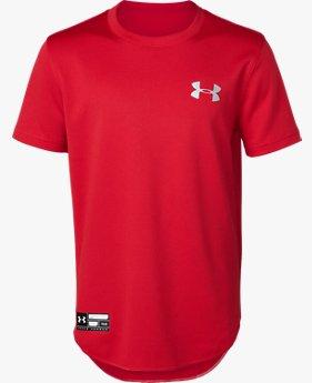 UAソリッド ベースボール シャツ(ベースボール/Tシャツ/BOYS)