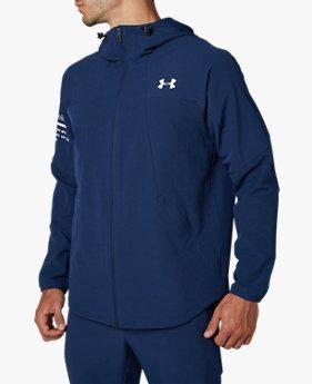 UAアンライン ウーブン ジャケット(トレーニング/ジャケット/MEN)