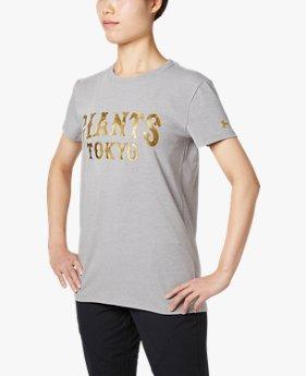 UA読売ジャイアンツチャージドコットンカモロゴTシャツ(ベースボール/Tシャツ/WOMEN)