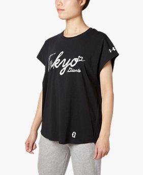 UA読売ジャイアンツチャージドコットンオーバーTシャツ(ベースボール/Tシャツ/WOMEN)