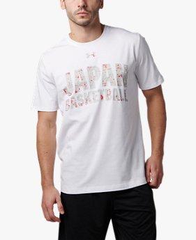 UAバスケットボール男子日本代表 チャージドコットンTシャツ カモロゴ(バスケットボール/Tシャツ/MEN)