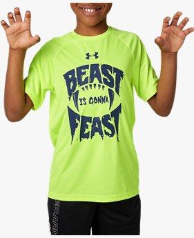 UAテック ショートスリーブ<Beast Gonna Feast>(トレーニング/BOYS)