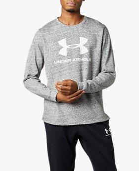 UAスポーツスタイル テリー ビッグロゴ クルー(トレーニング/MEN)