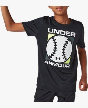 UAテック ボール ショートスリーブ シャツ(ベースボール/BOYS)