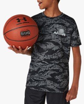 UAベースライン テック Tシャツ(バスケットボール/BOYS)