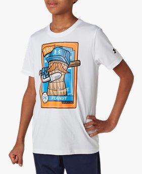 UAテック ショートスリーブ シャツ <PEANUT>(ベースボール/BOYS)