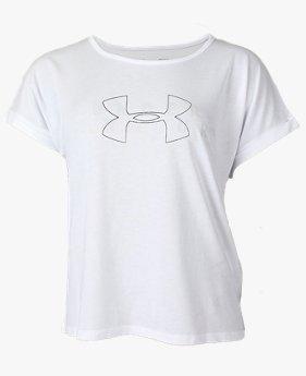 UAファッション ショートスリーブ クルー グラフィック(ライフスタイル/WOMEN)