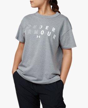 UAガールフレンド ビッグ テキストロゴ(ライフスタイル/WOMEN)
